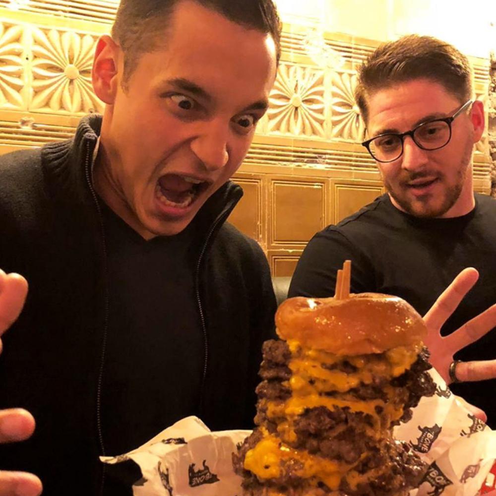 Burger man 1